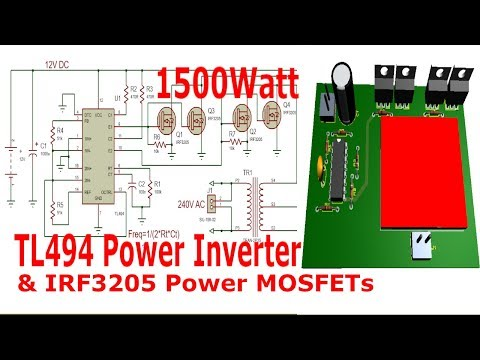 Full Download] 750 Watt Power Inverter With Tl494 And