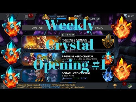 Weekly Crystal Opening #1 Double 4* Crystal! PHCs!