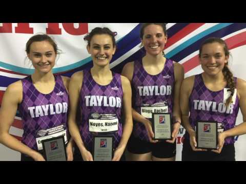 Taylor Track & Field at NAIA Indoor Nationals Day Two