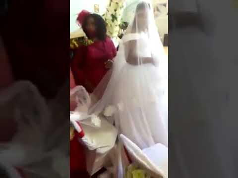 Angry wife storms husbands wedding, disrupts ceremony