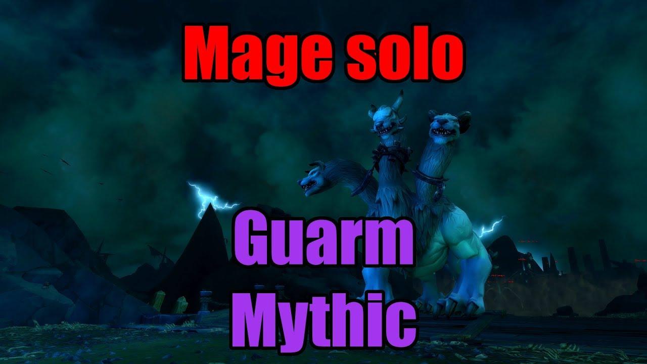 Mage solo - Helya Mythic