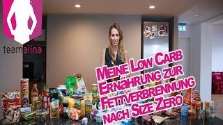 Low Carb Essen für optimale Fettverbrennung - Fitness-Ernährung | www.size-zero.de