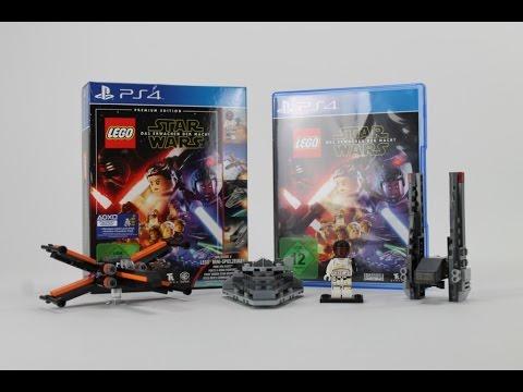 Unboxing Lego Star Wars Das Erwachen Der Macht Premium Edition Playstation 4 German Deutsch