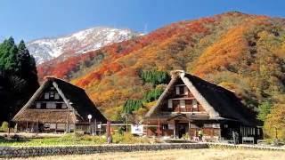 Японская сказка.  Деревня Сиракава - Го