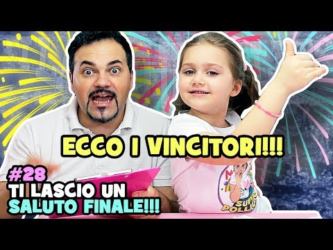 ECCO I VINCITORI - #28 Ti lascio un SALUTO FINALE AMICI!!!