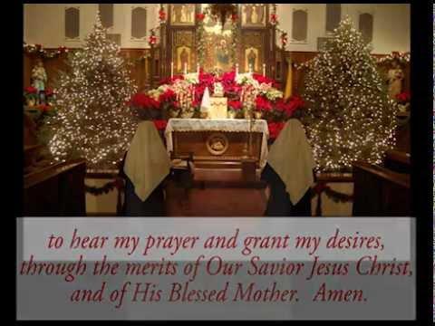 Prayer to Obtain Favors - St. Andrew Novena - YouTube