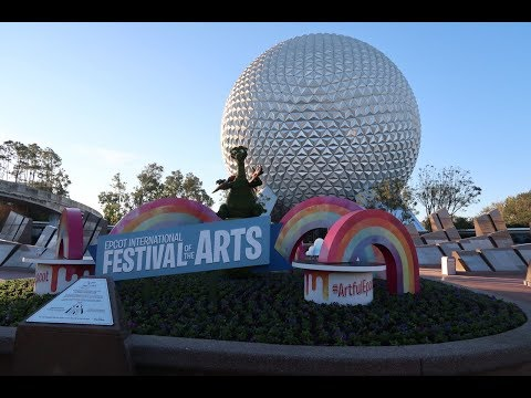 EPCOT! 2018 international Festival Of The Arts, Garden Grill Breakfast, Ride POVs & More!