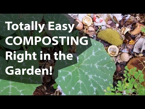 How To Compost The Easy Way: Totally Easy Composting Right in the Garden! (Day 9 of 30)