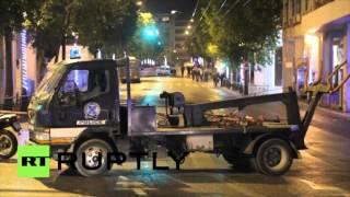 A Athènes, une bombe explose en pleine nuit sans faire de victimes