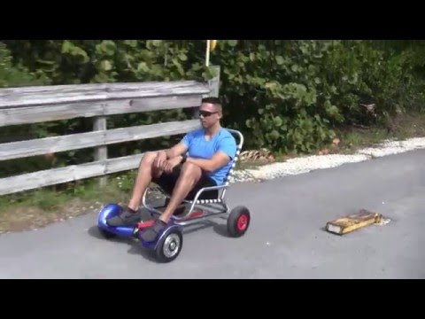 Hoverboards are over, but the HoverCart is kinda genius