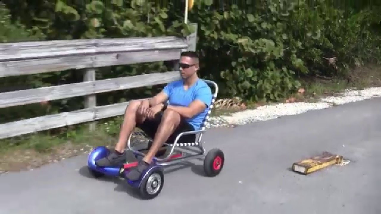 chair design patent metal side hoverseat is sitting on attachment for hoverboard drifting scooter. - youtube