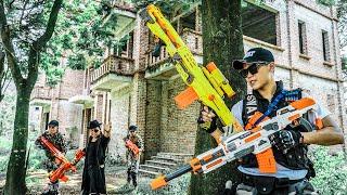 LTT Nerf War : special Task SEAL X Warriors Nerf Guns Fight Criminal Group Dr Mundo Perfect Couple