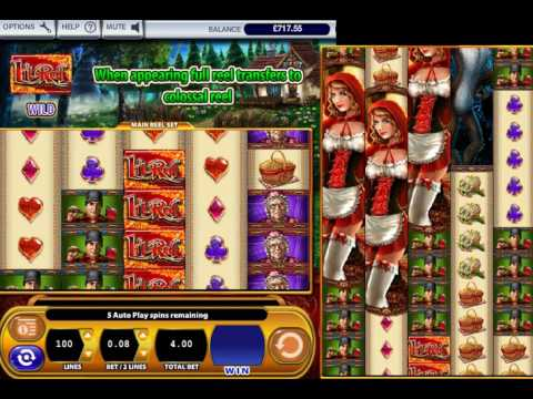 Red Riding Hood Slot Machine