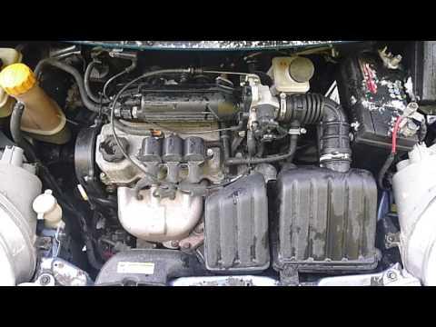 Двигатель Daewoo для Matiz 2001 после