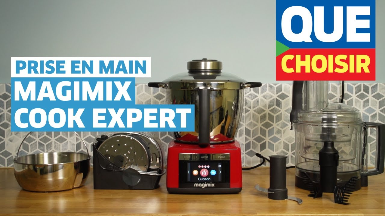 magimix cook expert prise en main