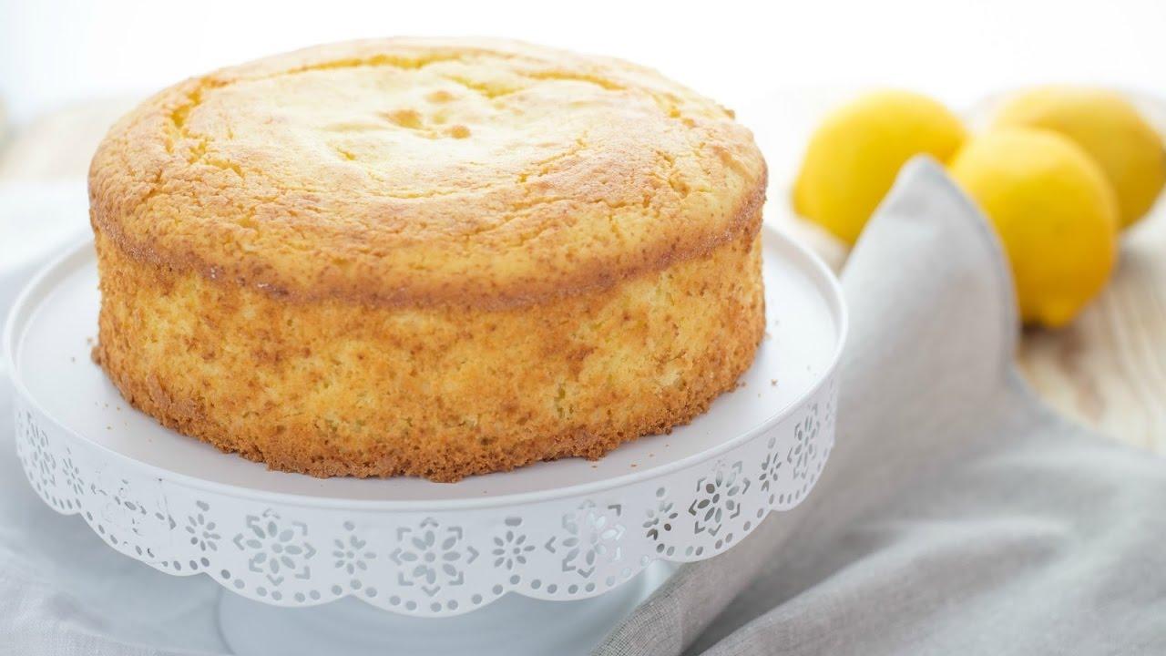 Torta Al Limone Senza Glutine E Burro Polvere Di Riso Youtube