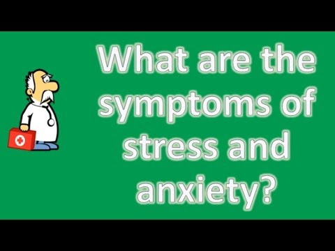 what-are-the-symptoms-of-stress-and-anxiety-?-|-mega-health-channel-&-answers