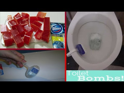 Thumbnail: How to Make Toilet Bowl Cleaner at Home || How to make Toilet Cleaner Bombs at home