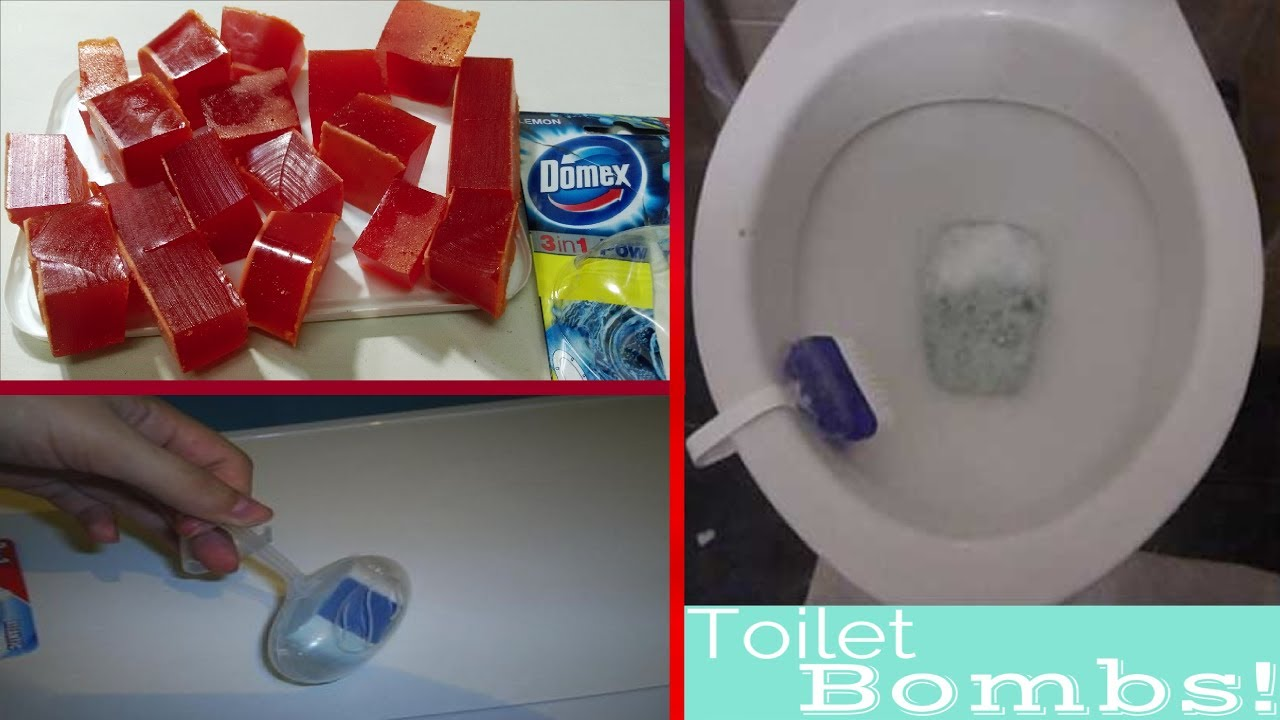 Bathroom cleaner bomb - How To Make Toilet Bowl Cleaner At Home How To Make Toilet Cleaner Bombs At Home