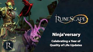 Ninja'versary: Celebrating a Year of Quality of Life Updates | RuneScape Q&A (Jan 2021)