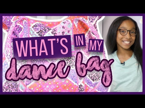 What's in My Dance Bag??? FALL 2017