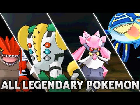 Pokemon ORAS: All Legendary Pokemon And Forms W/ Signature Moves! (Omega Ruby And Alpha Sapphire)