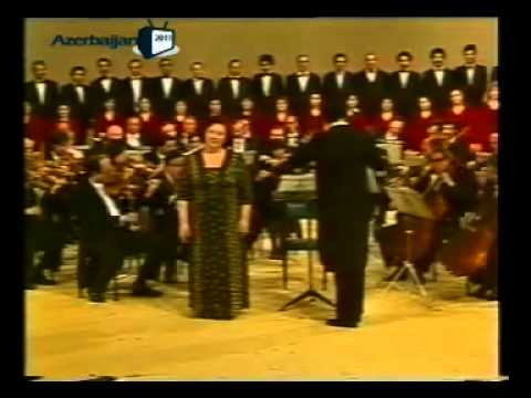 Şövket Elekberova - Fuzuli Kantatası