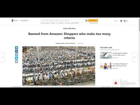 Amazon BANS People For Returns? Like 4 in a YR?  MAYBE They Shouldnt Be A Go-To Comic Spot?