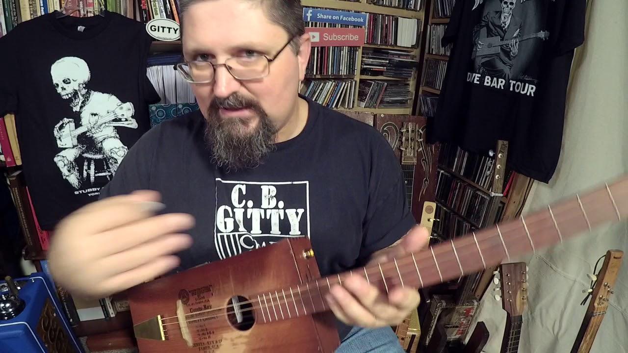 How To Play A Beatlesque Cigar Box Guitar Riff Dance By Shane