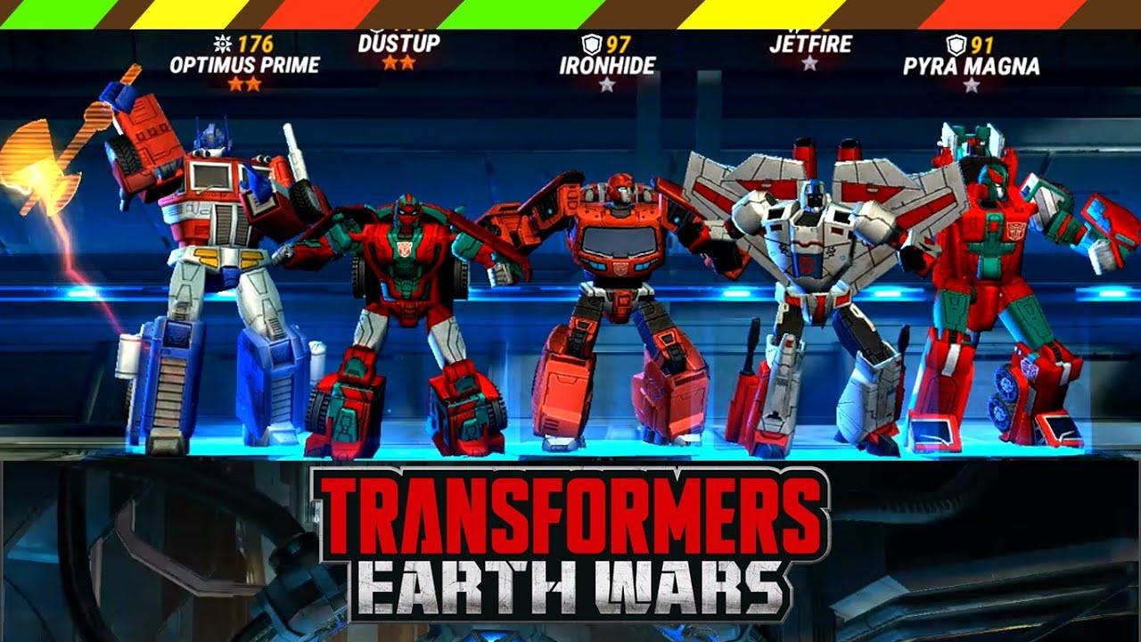 Game Robot biến hình thống trị trái đất – Transformers Earth Wars | DCTE