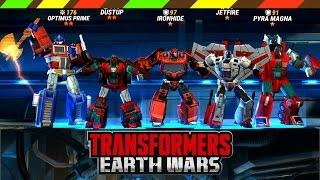 Game Robot biến hình thống trị trái đất - Transformers Earth Wars | DCTE