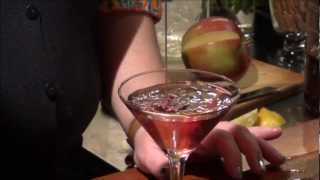 How To Make A Huckleberry Pomegranate Martini