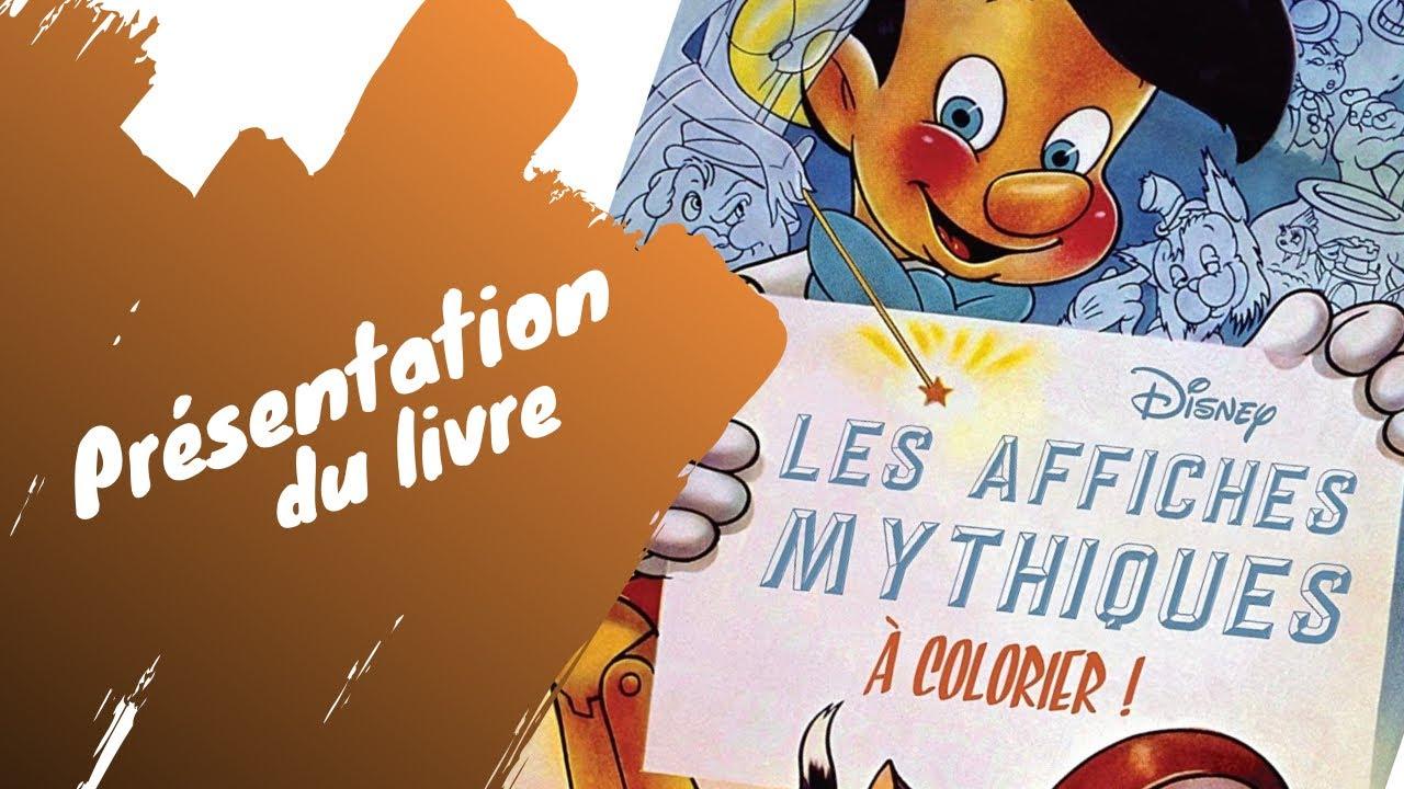 Les affiches Mythiques - Hachette Heroes - Disney - Coloriage Adulte