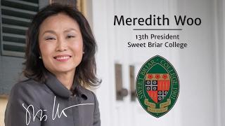Meet Sweet Briar College President-elect Meredith Woo