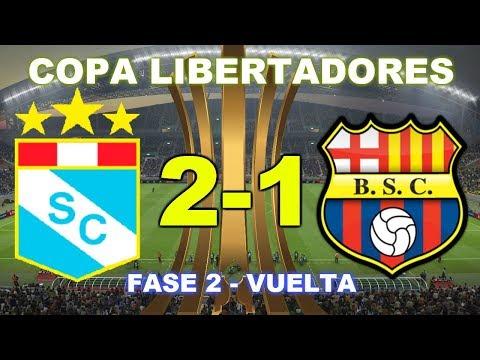 Sporting Cristal vs Barcelona SC   Copa Libertadores - FASE 2 - 13/02/20 - Partido Completo HD