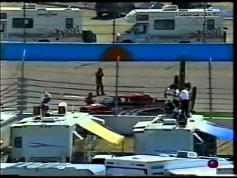 IRL Phoenix 2003 Big crash Takagi