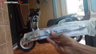 Pasang Hidrolik di jok motor scoopy dan kegunaanya
