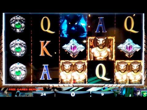 Shadow of the Panther Slot Machine $9 Bet *LIVE PLAY* Bonus! - 동영상