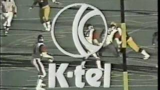 CFL 1977: Toronto at Montreal (part 1) -- Intro CFL on CBC