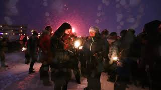 1st of Advent in Nuuk, Greenland