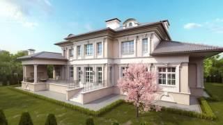 Проект частного дома из кирпича(http://www.topdom.info/portfolio/rl153.php – фото, фасады, характеристики проекта на сайте строительной компании ТопДом...., 2016-05-25T10:50:25.000Z)