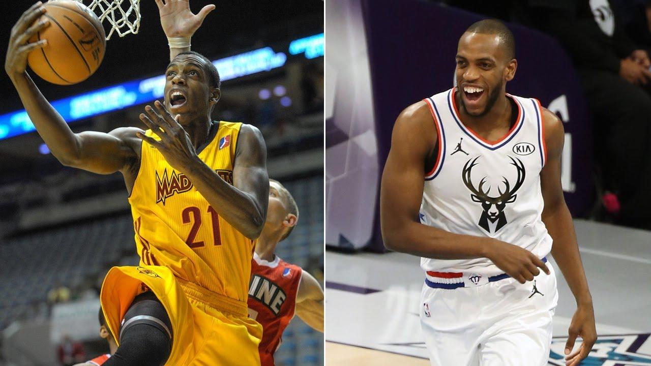 Khris Middleton Becomes First NBA G ...