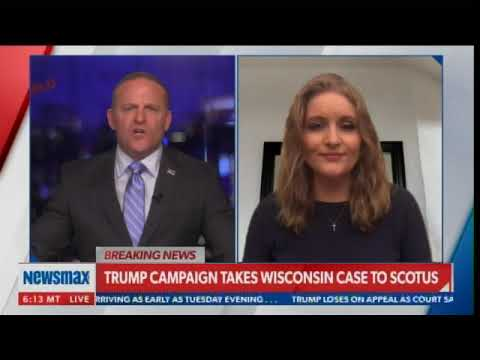 Atty. Jenna Ellis on WI Supreme Court Case: Bush v. Gore Is Precedent - Trump Gets Same Opportunity