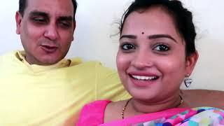 Jab Ye Baat Maine Husband ko Batayi_Saree for a week Day 1