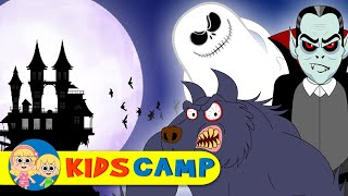 Halloween Night | Halloween Song | A Vampire, A Werewolf or A Ghost Song | By Kidscamp