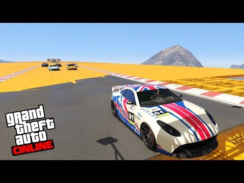 GTA V - Online - OCELOT LINX! TUNANDO E TESTANDO!