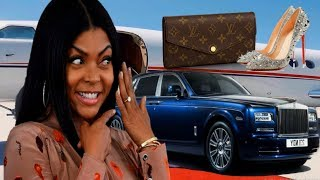 7 MOST EXPENSIVE THINGS OWNED BY AMERICAN ACTRESS TARAJI P HENSON