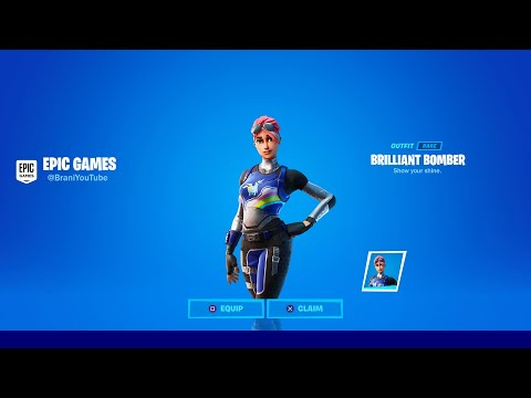 HOW TO GET NEW BRILLIANT BOMBER SKIN IN FORTNITE! NEW FORTNITE BRILLIANT BOMBER SKIN