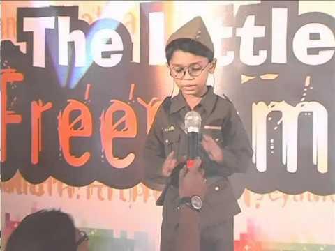 kid perform as Dr. Subhash Chandra bose