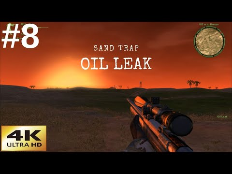 Delta Force Xtreme 2 | Classic Games In 4K | Sand Trap | Oil Leak | Mission 8 |